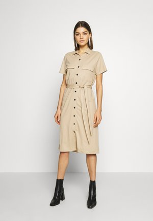 VISAFINA DRESS - Korte jurk - beige