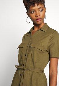 Vila - VISAFINA DRESS - Korte jurk - dark olive - 3