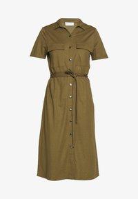 Vila - VISAFINA DRESS - Korte jurk - dark olive - 4
