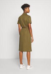 Vila - VISAFINA DRESS - Korte jurk - dark olive - 2