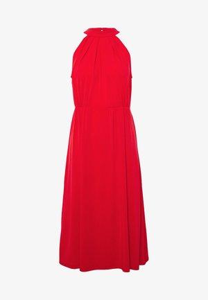 VIOCENNA WRINKLE EFFECT DRESS - Robe en jersey - flame scarlet