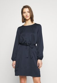 Vila - VILOPEZ BELT DRESS - Robe d'été - navy blazer - 0