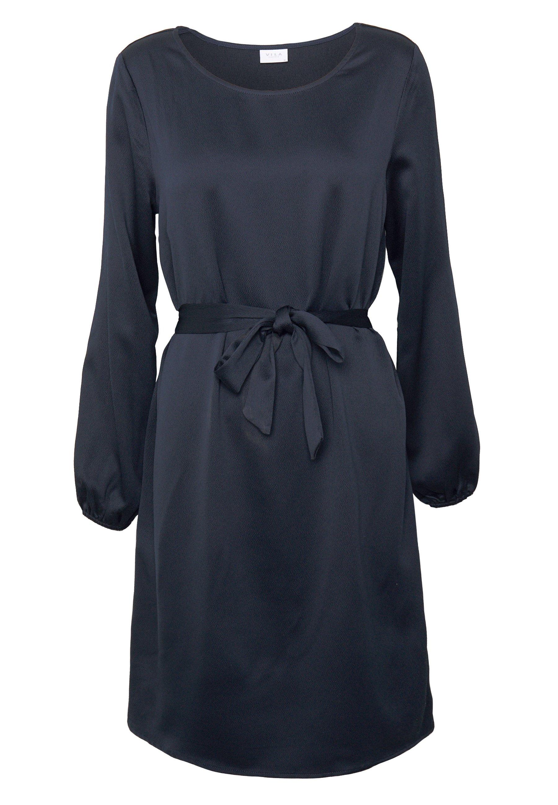 Vila VILOPEZ BELT DRESS - Sukienka letnia - navy blazer