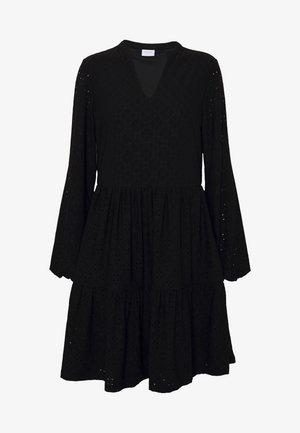 VIKAWA DRESS - Jerseyjurk - black