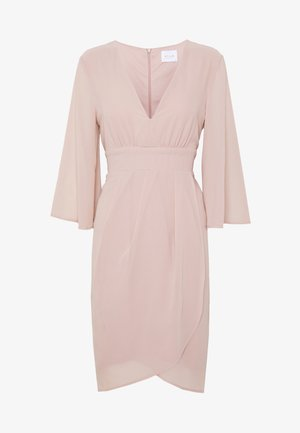 VIMICADA - Korte jurk - pale mauve