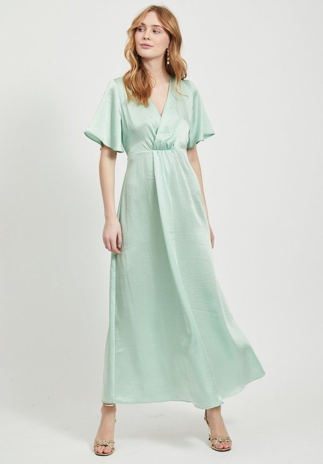 VIFLOATING ANCLE  - Maxi-jurk - cameo green