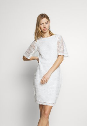 VIDURINA DRESS - Shift dress - cloud dancer