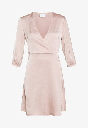VIZIPPA WRAP EFFECT DRESS - Robe de soirée - pale mauve