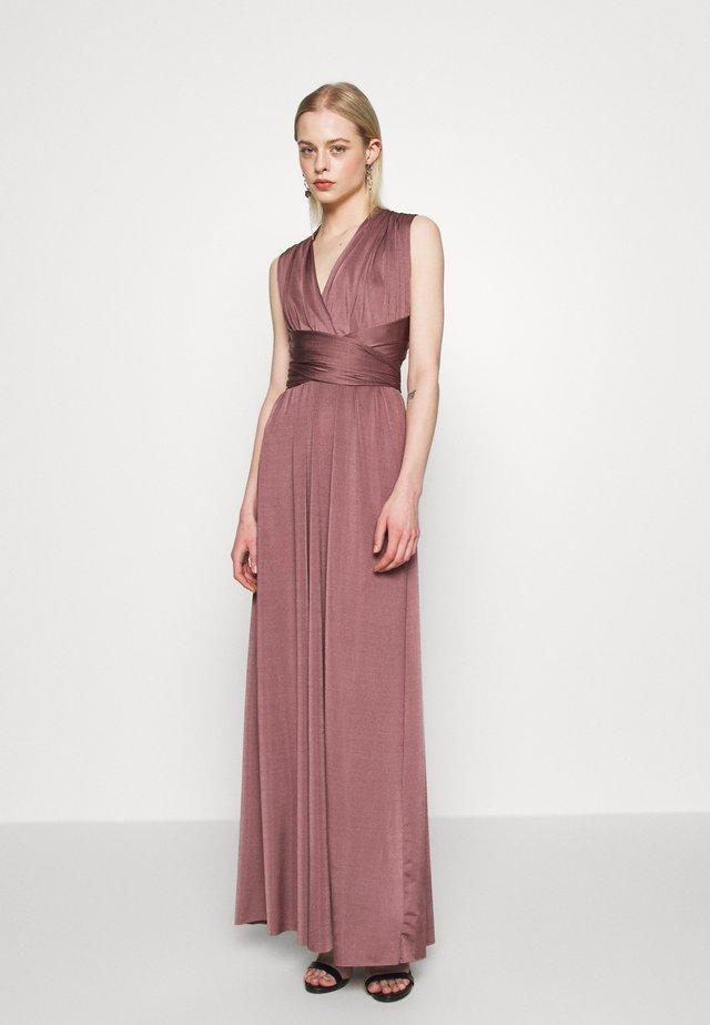 VICAMILLO MULTI FUNCTIONAL  - Długa sukienka - grape shake