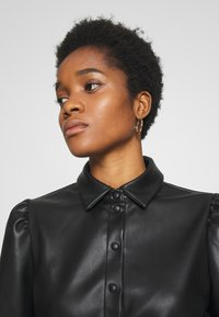 Vila - VIDARAS 3/4 DRESS - Robe chemise - black - 3