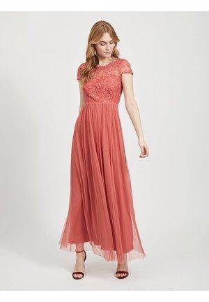 Festklänning - mottled pink