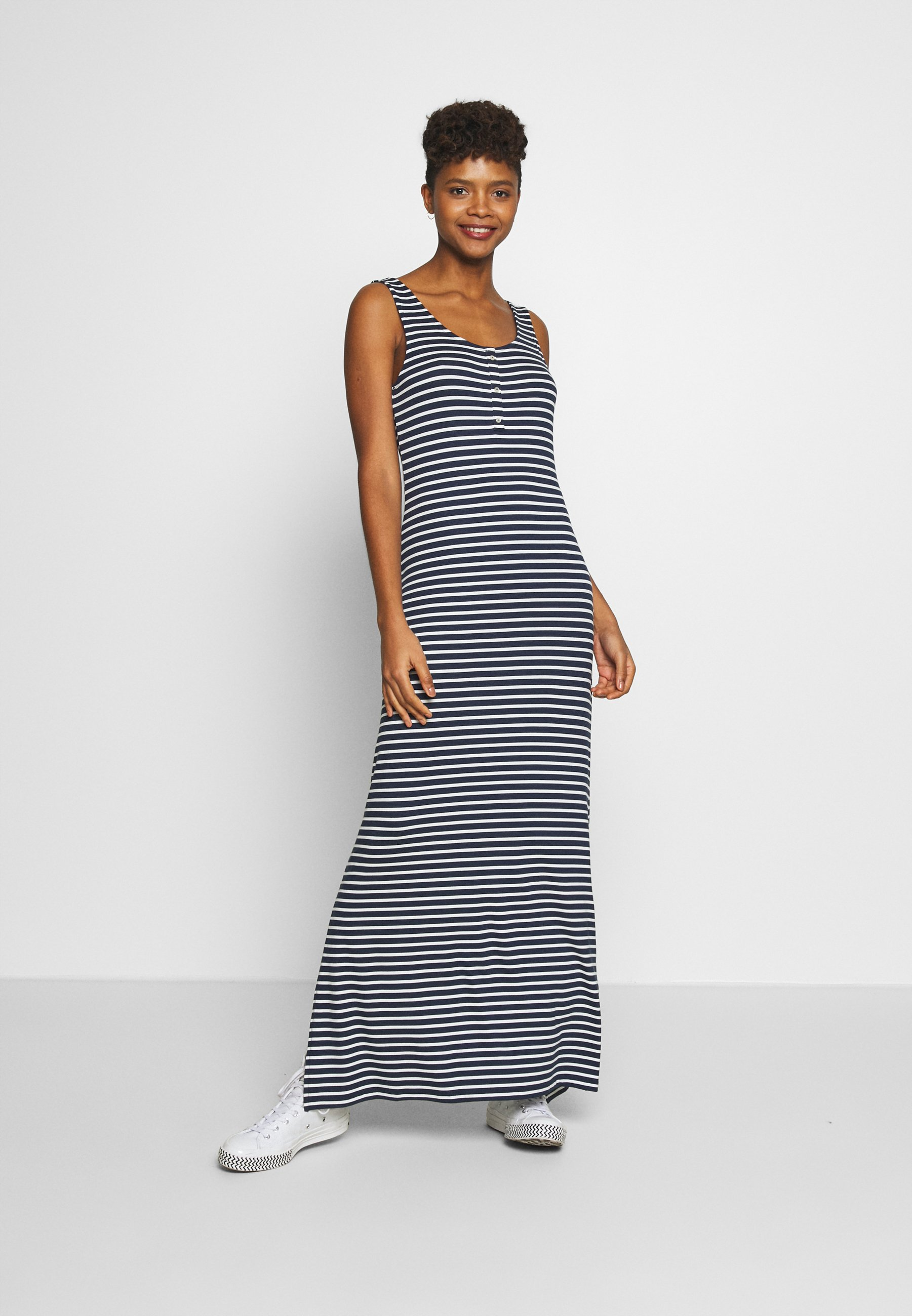 Vila VIDELL NOOS - Maxi dress - navy blazer/snow white