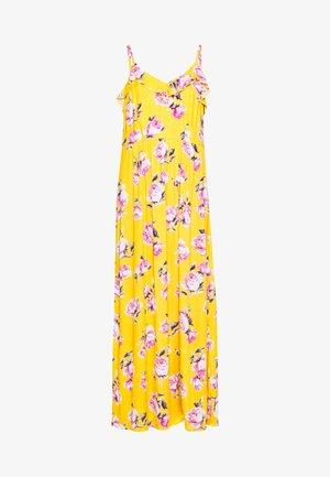 VIROSALINE MAXI DRESS - Robe longue - golden rod/rose/white