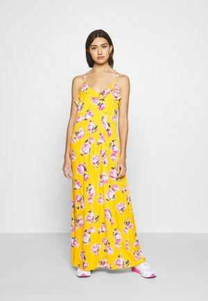 VIROSALINE MAXI DRESS - Maxi-jurk - golden rod/rose/white