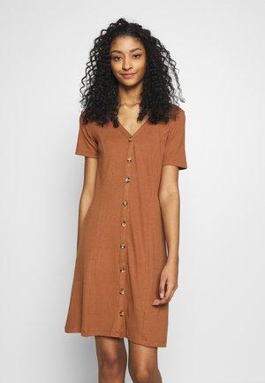 VICONIA DRESS - Vestito di maglina - rawhide