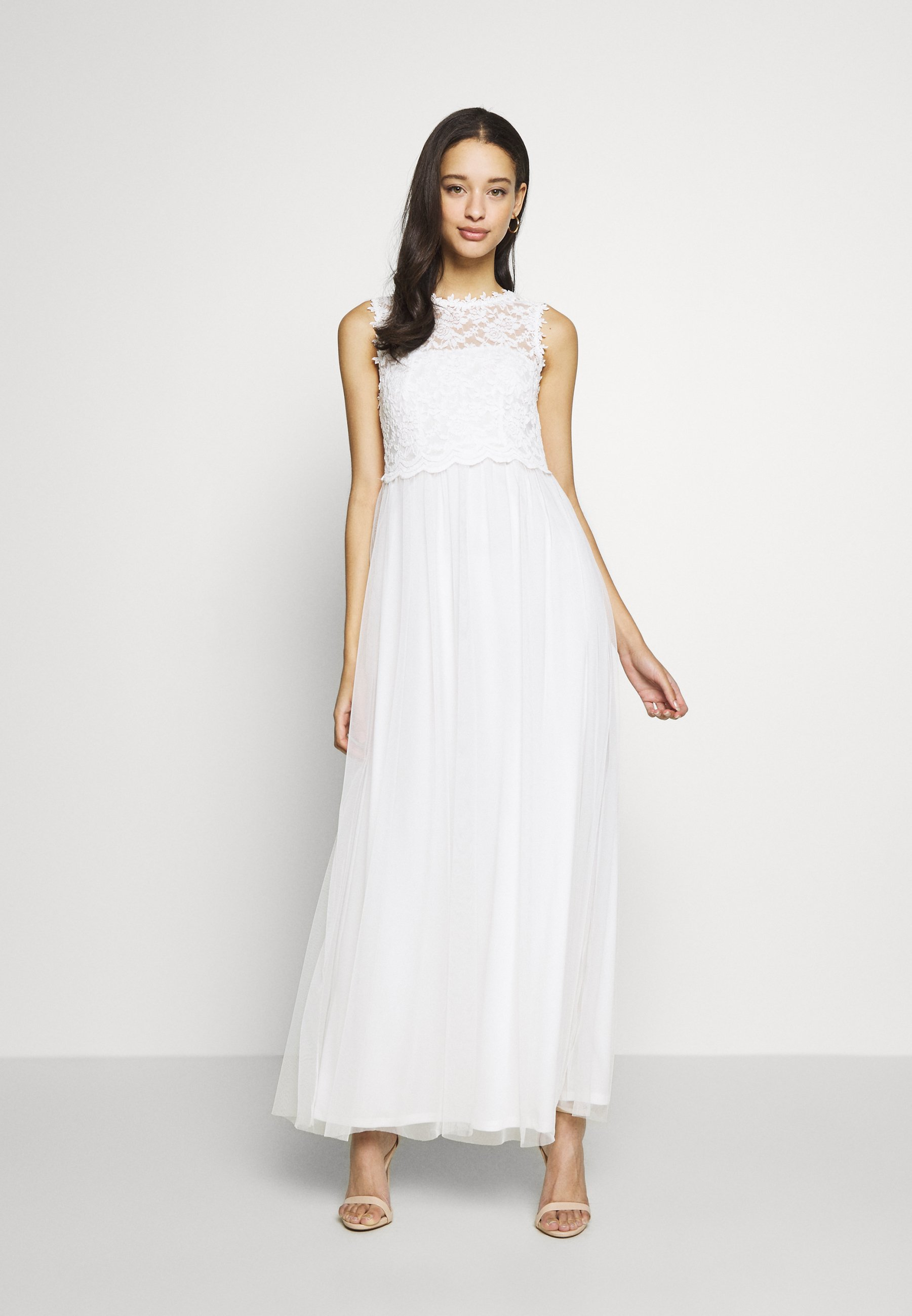 Vila VILYNNEA MAXI DRESS - Suknia balowa - cloud dancer
