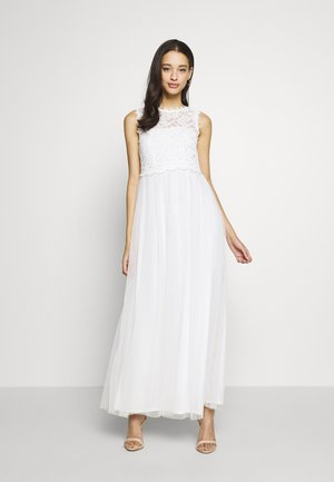 VILYNNEA MAXI DRESS - Abito da sera - cloud dancer