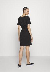 Vila - VIDREAMERS DRESS - Jerseyjurk - black - 2