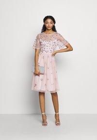 Vila - VIFANTASY DRESS - Sukienka koktajlowa - pale mauve - 2