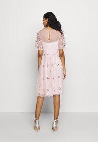Vila - VIFANTASY DRESS - Sukienka koktajlowa - pale mauve - 3