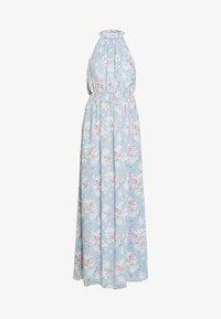 Vila - VISMILLA MAXI DRESS - Iltapuku - ashley blue - 4