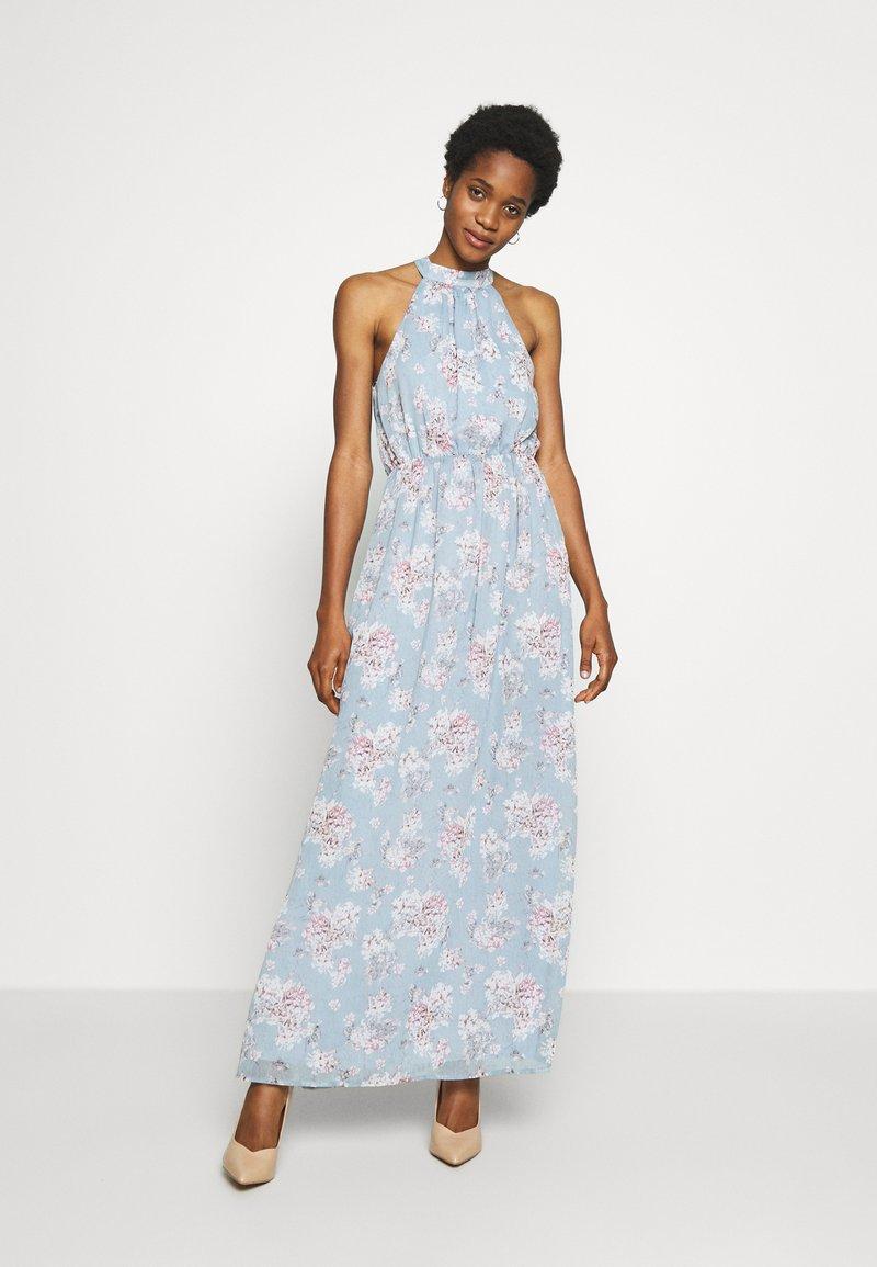 Vila - VISMILLA MAXI DRESS - Iltapuku - ashley blue