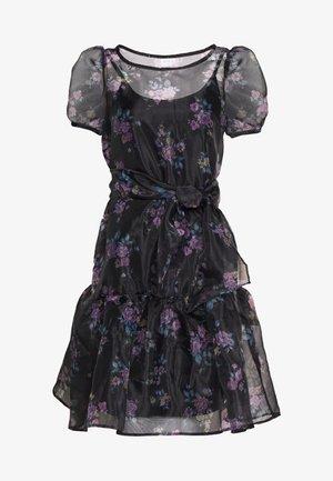 VIORGA SHORT DRESS - Kjole - black