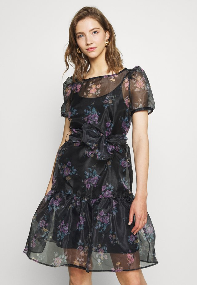 VIORGA SHORT DRESS - Cocktail dress / Party dress - black