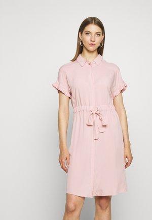 VISASIA TUNNEL TIE DRESS - Skjortekjole - pale mauve
