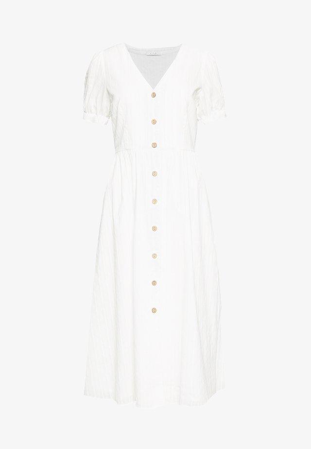 VIMOLISSA MIDI DRESS - Skjortklänning - cloud dancer
