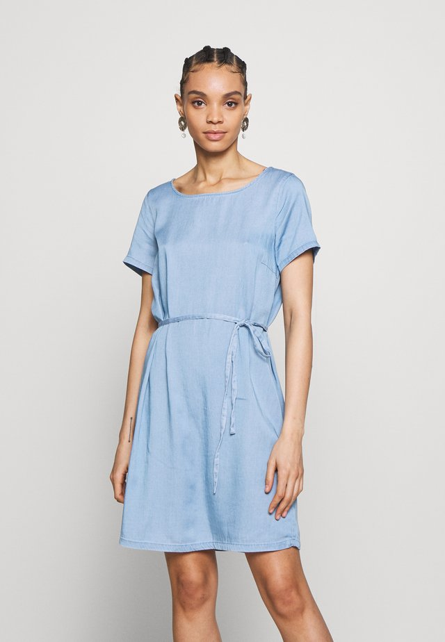 VIBISTA DRESS - Spijkerjurk - medium blue denim