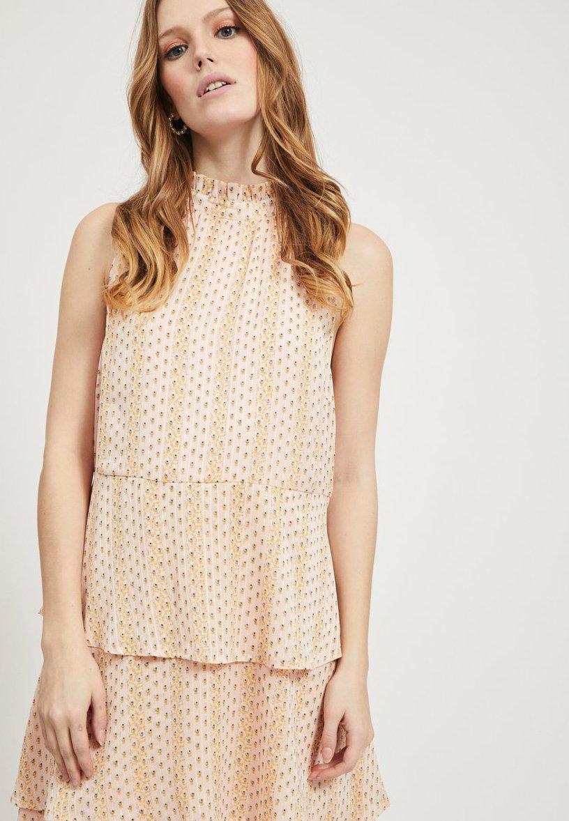 Vila Day Dress - Pale Mauve