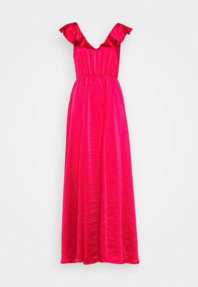 VIFLOATING FRILL DRESS - Festklänning - barberry