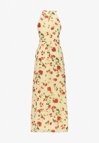 Vila - VIMILINA HALTERNECK DRESS - Galajurk - mellow yellow - 1