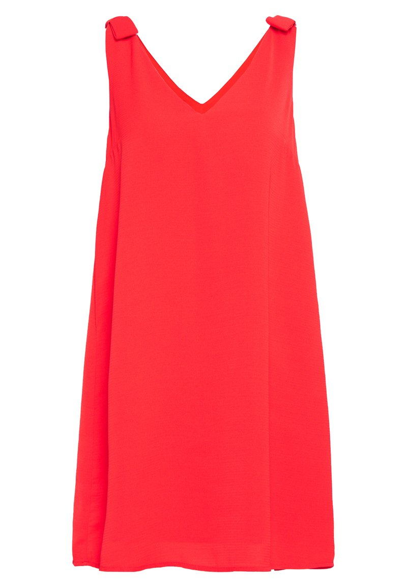 Vila - VIJAHULA DRESS - Korte jurk - flame scarlet
