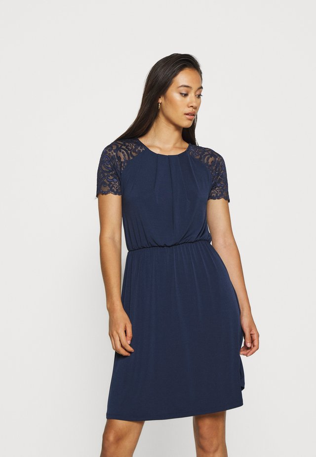 VITAINI DRESS - Sukienka z dżerseju - navy blazer