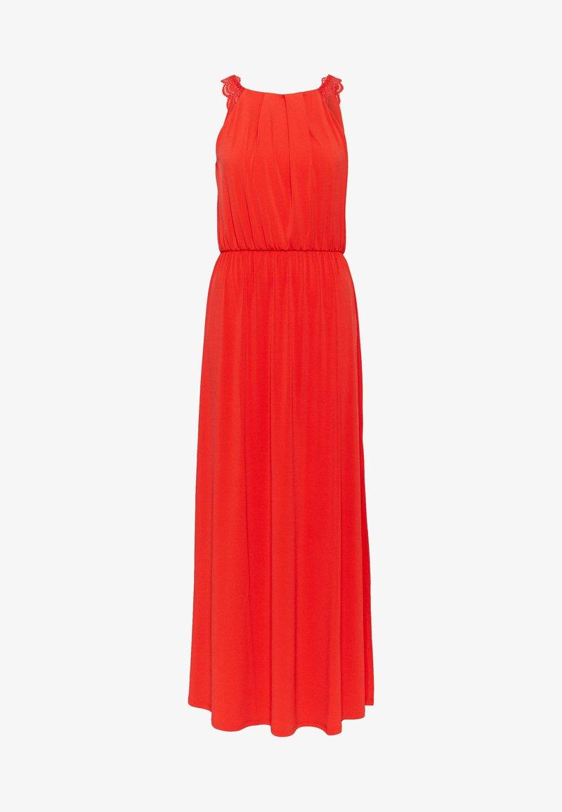 Vila - VITAINI NEW DRESS - Maxi-jurk - flame scarlet