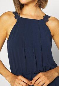 Vila - VITAINI NEW DRESS - Maxi-jurk - navy blazer - 5