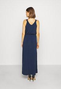 Vila - VITAINI NEW DRESS - Maxi-jurk - navy blazer - 2