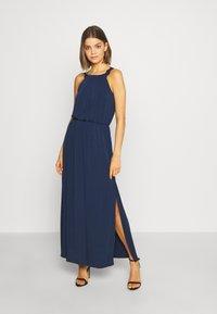 Vila - VITAINI NEW DRESS - Maxi-jurk - navy blazer - 0