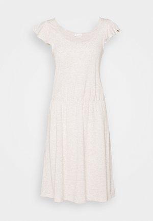 VIBARIA FLOUNCE DRESS - Vestito di maglina - mottled beige