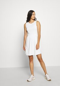 Vila - VITINNY DOLL DRESS - Jerseyjurk - cloud dancer - 1