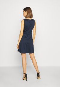Vila - VITINNY DOLL DRESS - Jerseyjurk - navy blazer - 2