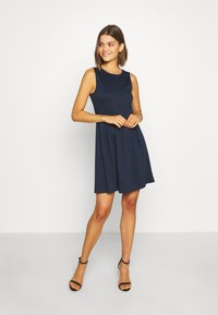Vila - VITINNY DOLL DRESS - Jerseyjurk - navy blazer - 0