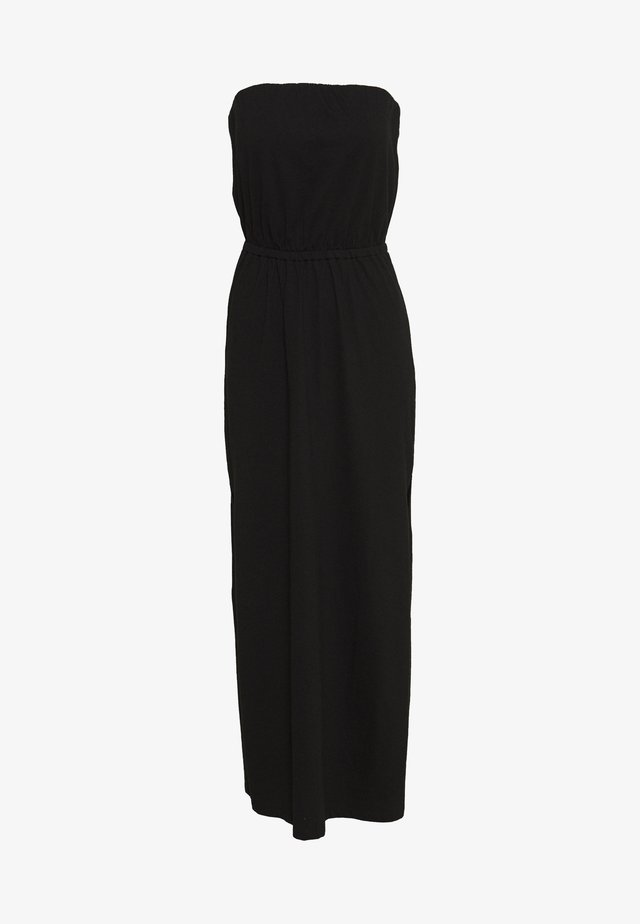 VICALINA STRAPLESS DRESS - Jerseyjurk - black