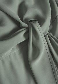 Vila - VIMICADA DRESS - Maxiklänning - green milieu - 2