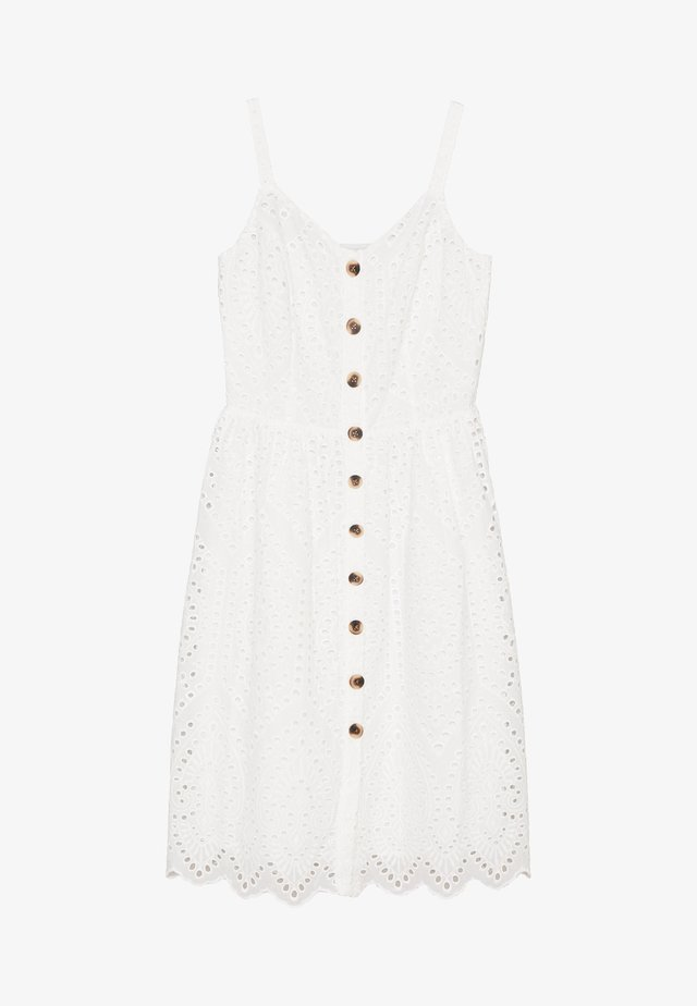 VICAMELINA DRESS - Vapaa-ajan mekko - snow white