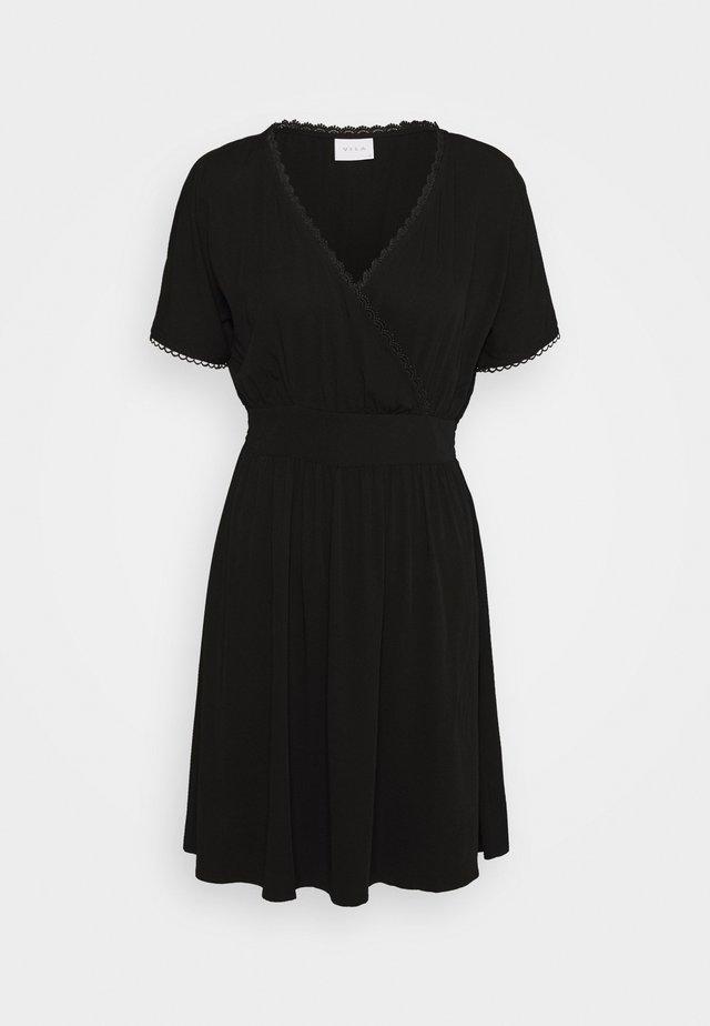 VISUVITA DRESS - Korte jurk - black