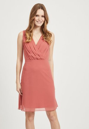 Vestido informal - dusty cedar