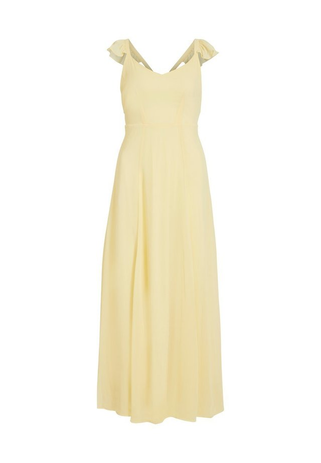 Occasion wear - mellow yellow